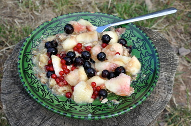 petit déjeuner Miam ô fruits